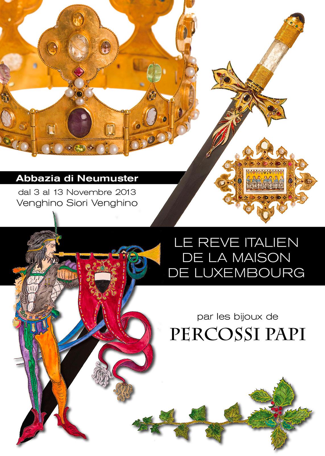 La reve italien de la maison de luxembourg
